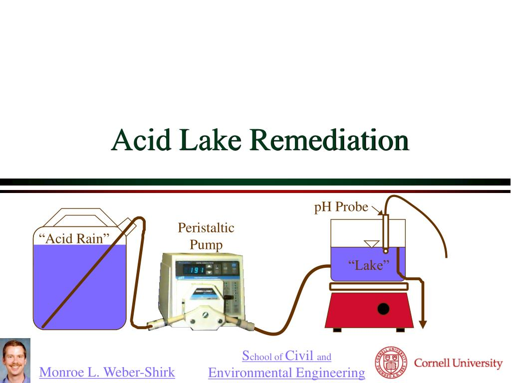 acid lake remediation l.