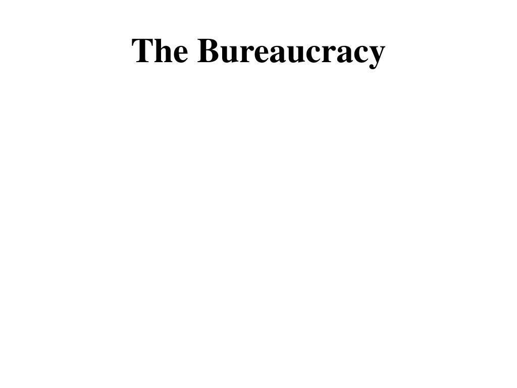 the bureaucracy l.