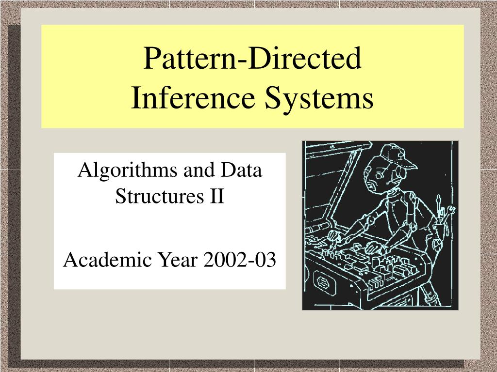 pattern directed inference systems l.