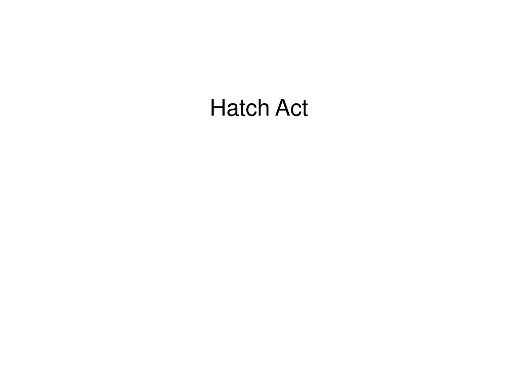 Hatch Act
