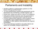 parliaments and instability8