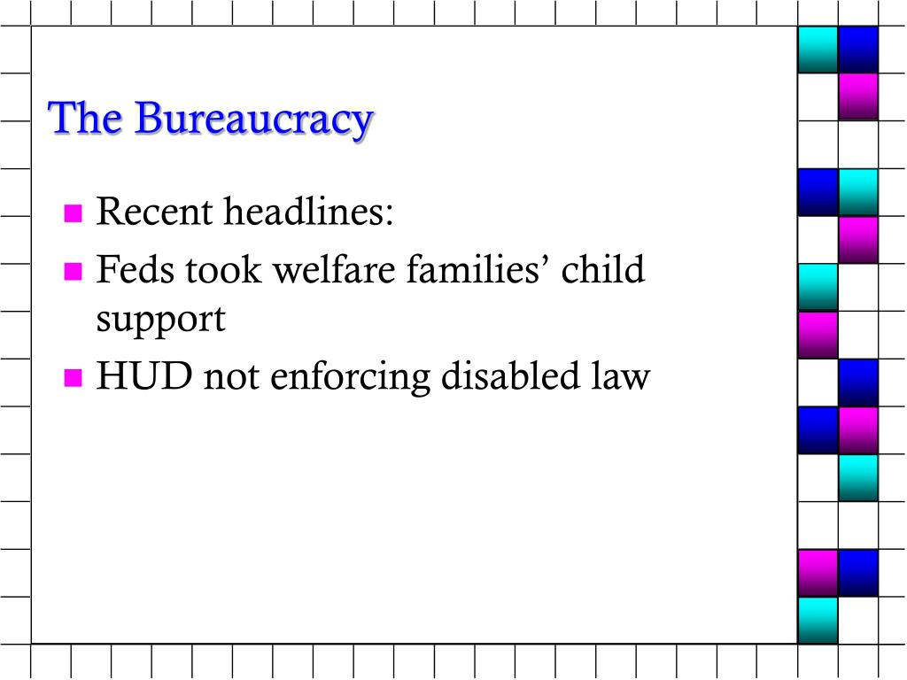 the bureaucracy l.