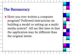 the bureaucracy2