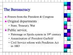 the bureaucracy3