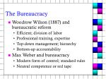 the bureaucracy4
