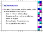 the bureaucracy5