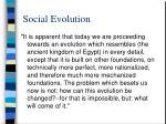 social evolution85