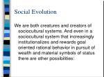 social evolution88