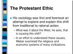 the protestant ethic37