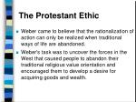 the protestant ethic38