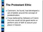 the protestant ethic40
