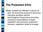 the protestant ethic43