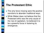 the protestant ethic44