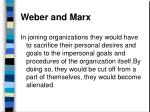 weber and marx80