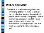 weber and marx82