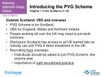introducing the pvg scheme chapter 1 of the guidance 1 10