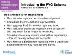 introducing the pvg scheme chapter 1 of the guidance 1 8