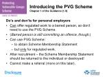 introducing the pvg scheme chapter 1 of the guidance 1 9
