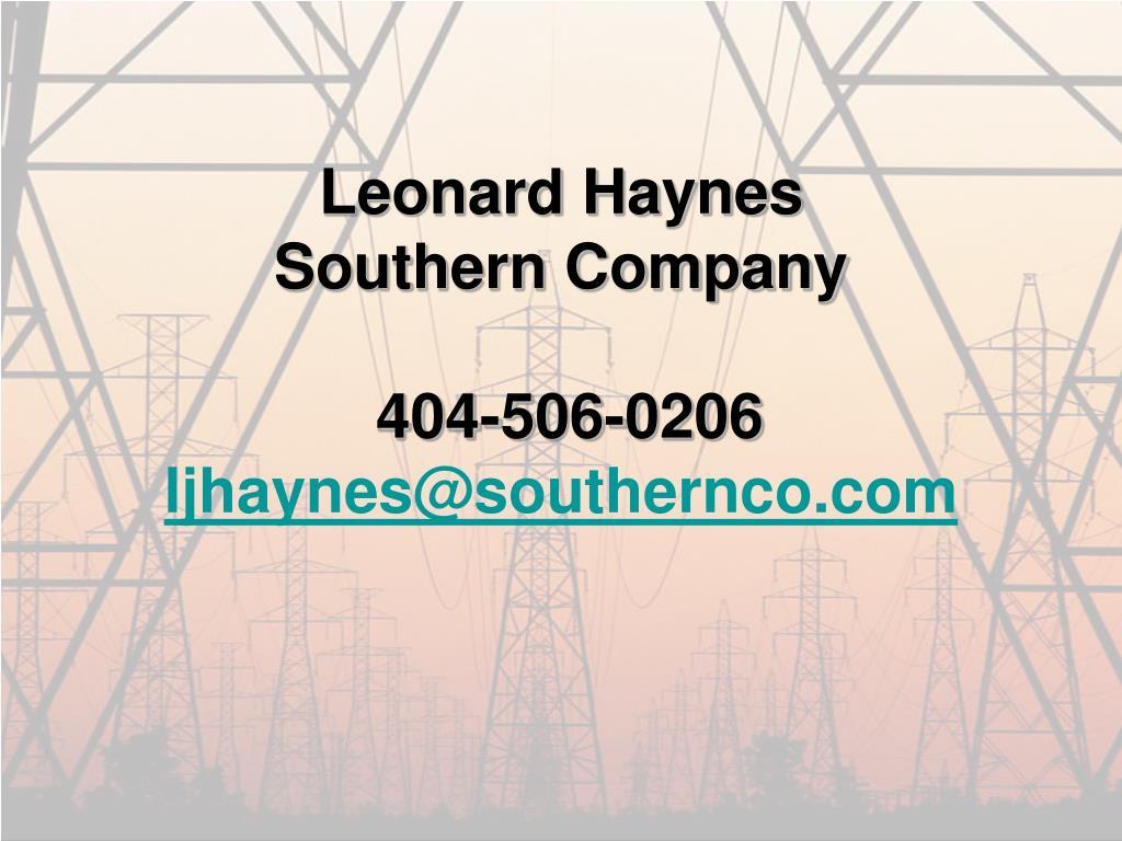 Leonard Haynes