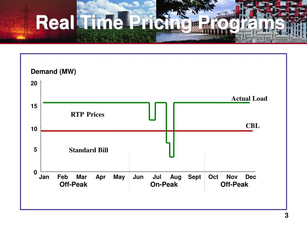 Real Time Pricing Programs