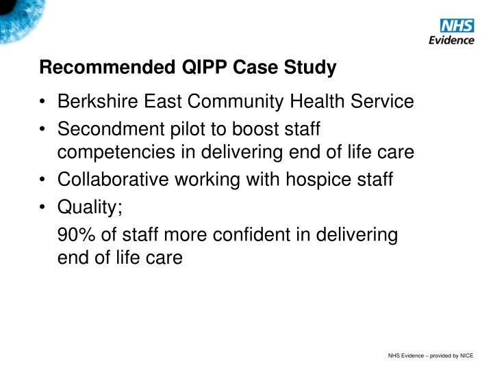 qipp case study