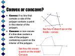 convex or concave