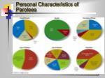 personal characteristics of parolees