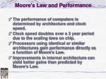 moore s law and performance