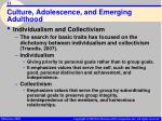 culture adolescence and emerging adulthood11