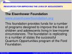 resources for improving the lives of adolescents58