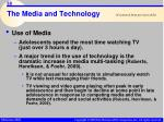the media and technology38