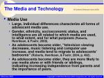the media and technology41