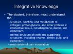 integrative knowledge