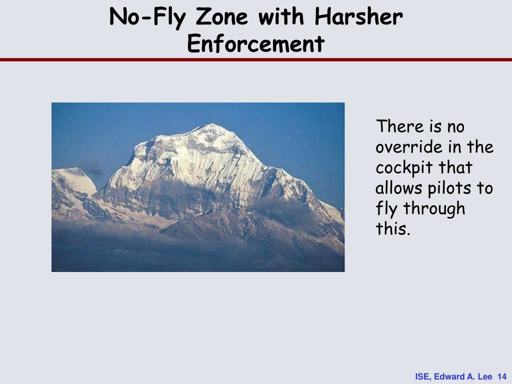 No-Fly Zone with Harsher Enforcement