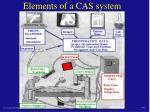 elements of a cas system