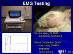 emg testing