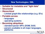 new technologies xml59