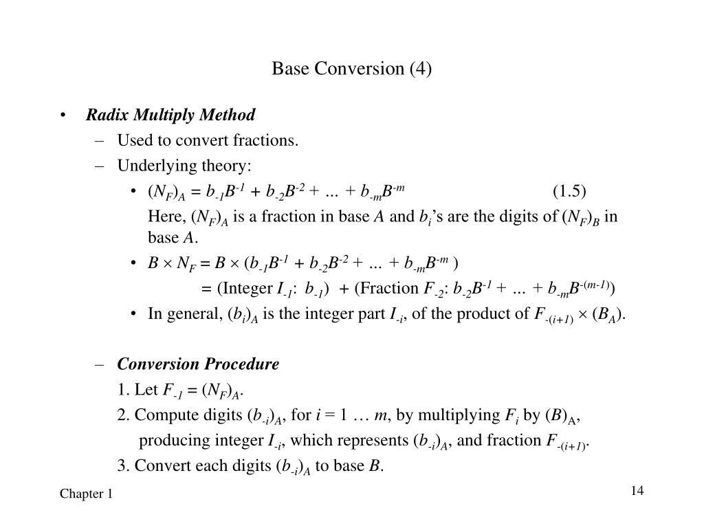 Base Conversion (4)