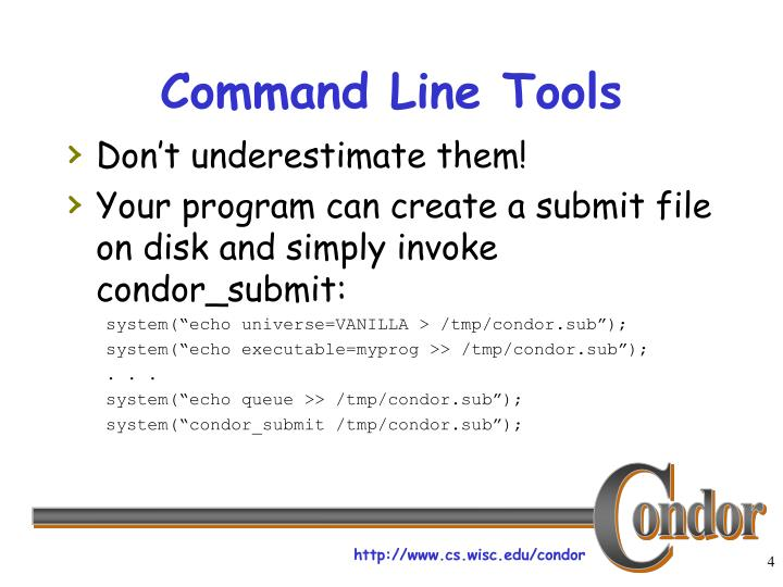 Command Line Tools