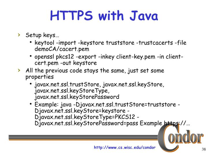 HTTPS with Java