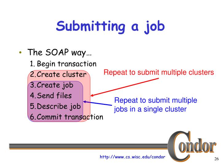 Repeat to submit multiple clusters