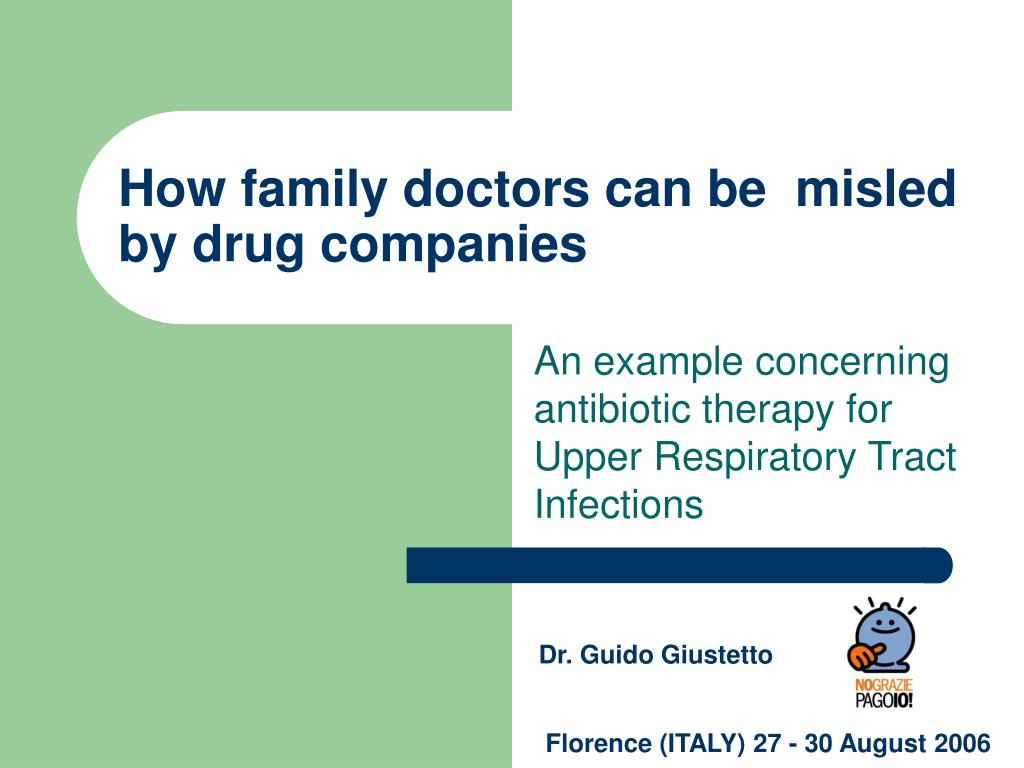 how family doctors can be misled by drug companies l.