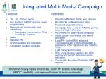 integrated multi media campaign