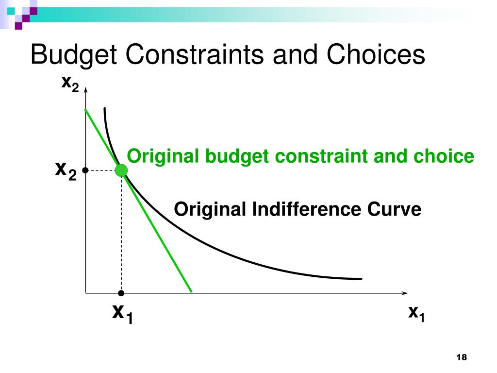 Budget Constraints and Choices