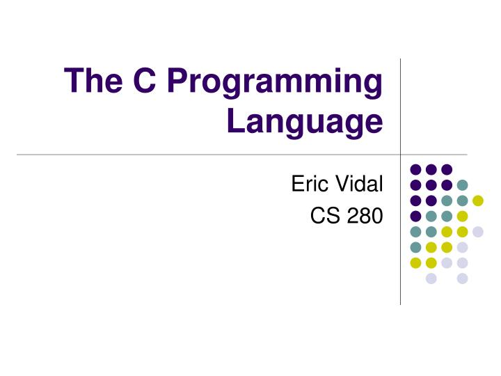 the c programming language n.