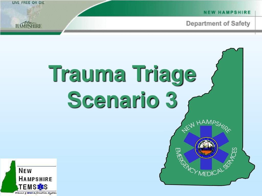 trauma triage scenario 3 l.