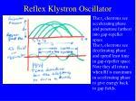 reflex klystron oscillator30