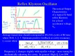 reflex klystron oscillator31