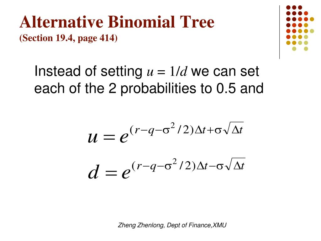 Alternative Binomial Tree