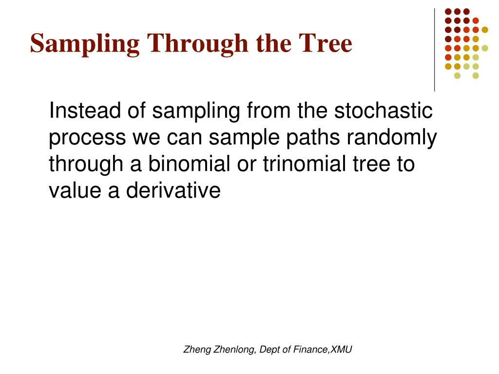 Sampling Through the Tree